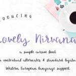 Lovely Nirvana Script Font