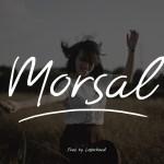 Morsal Handmade Font