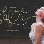 Shyta Script Font