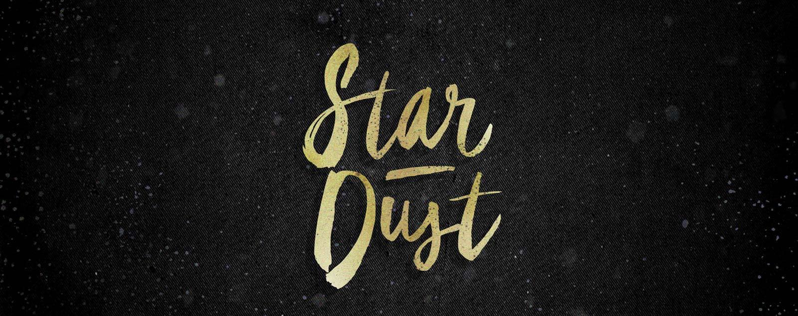 star-dust-brush-font
