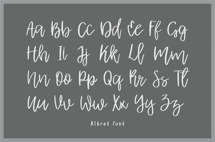 albret-handwritten-font-1