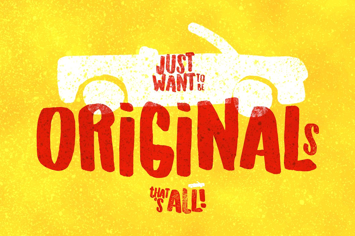 originals-typeface