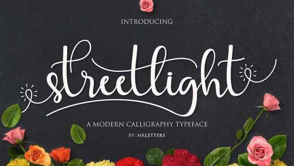 Streetlight Script Font