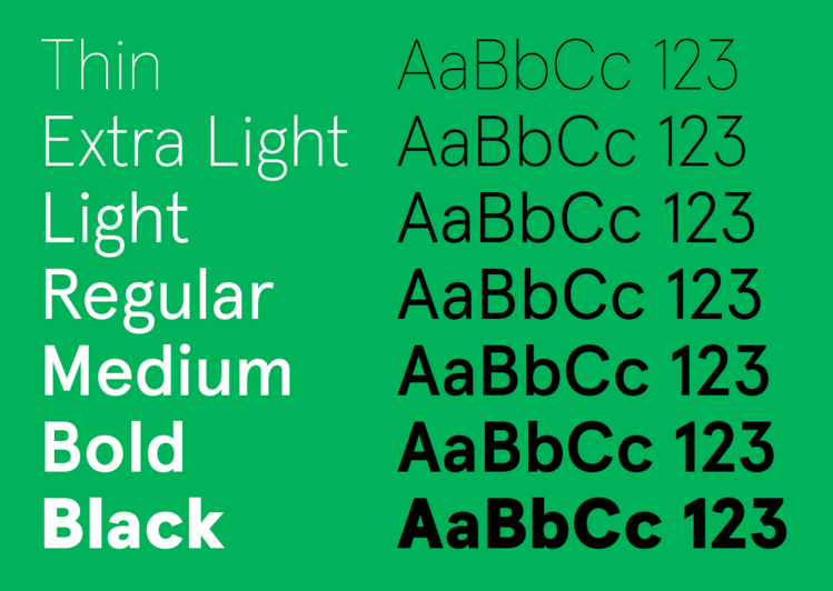 gill sans light font family free download