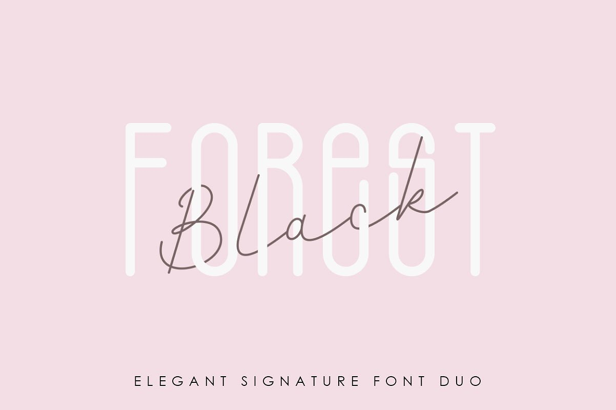 black-forest-font-duo