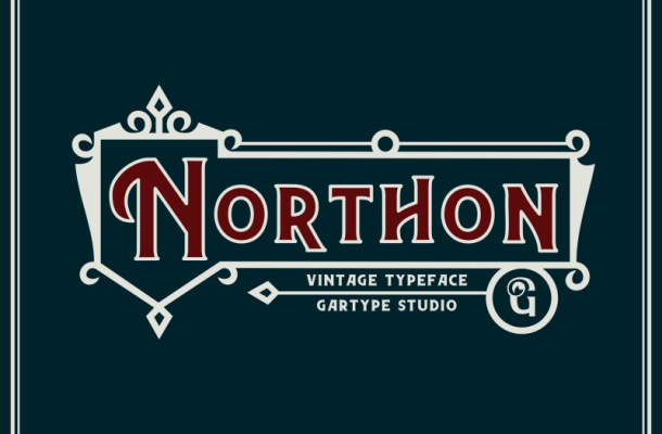 Northon Font and Ornament