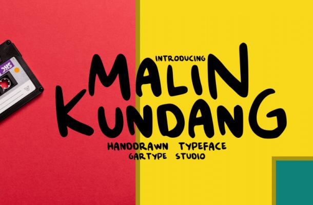 Malin Kundang Script Font