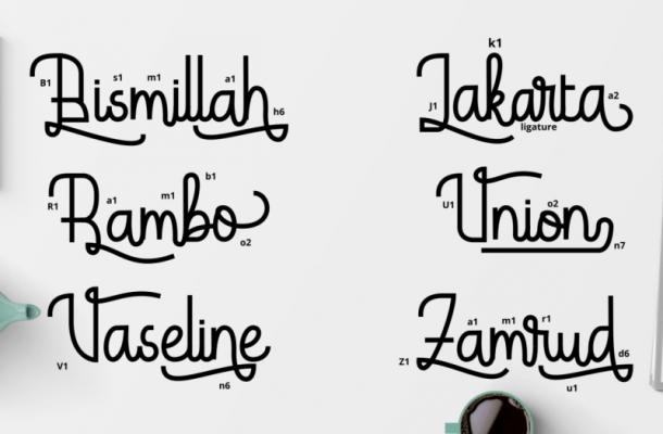 Hardolyn Script Font
