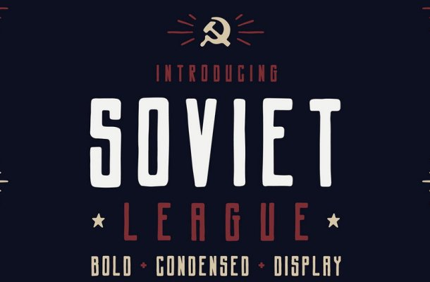 Soviet League Typeface