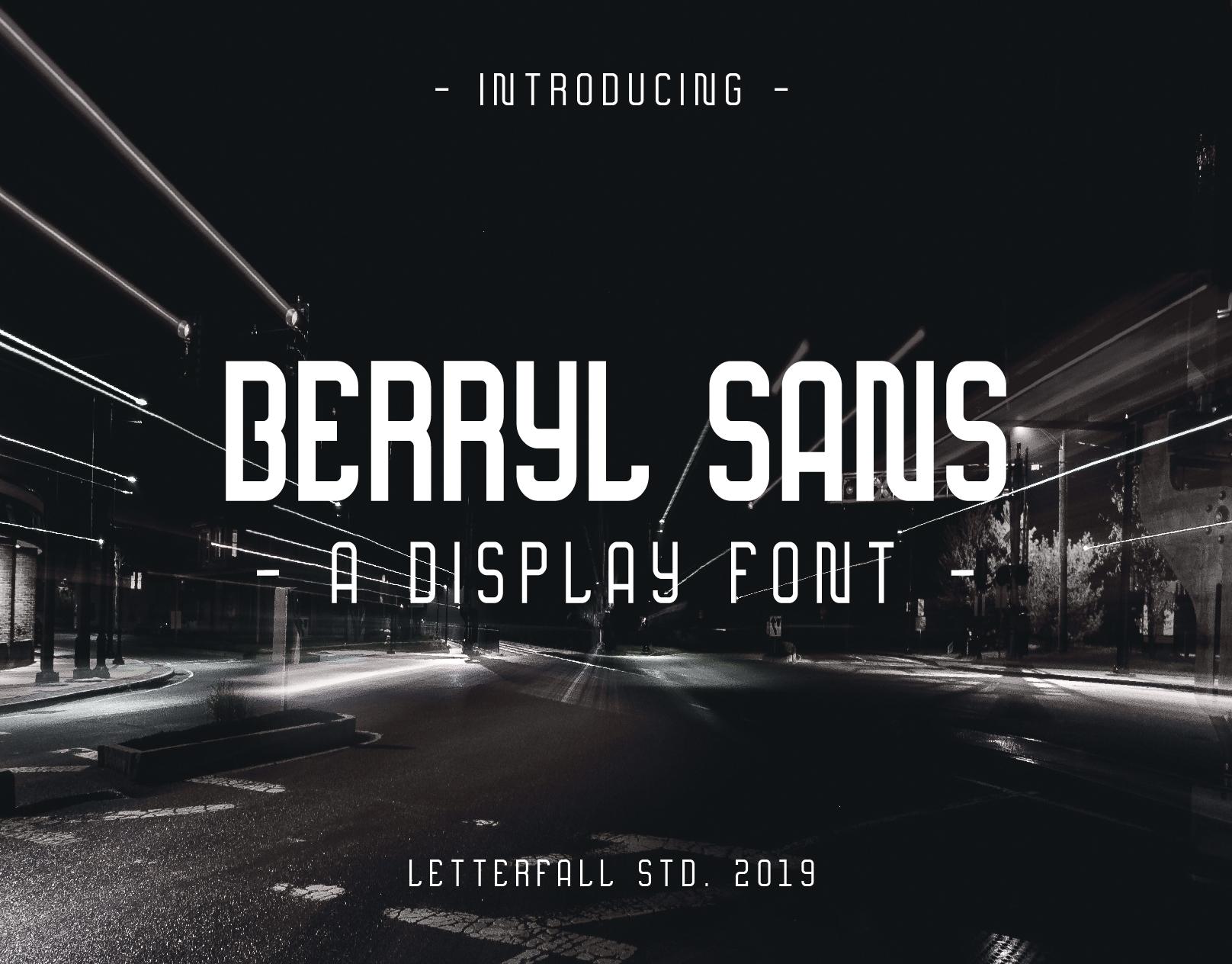 berryl-sans-serif-font
