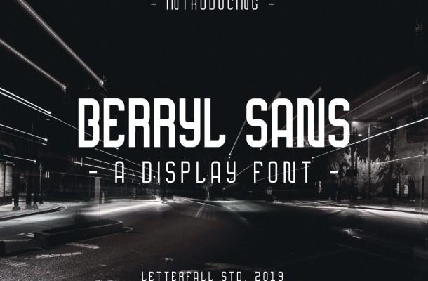 Berryl Sans Serif Font