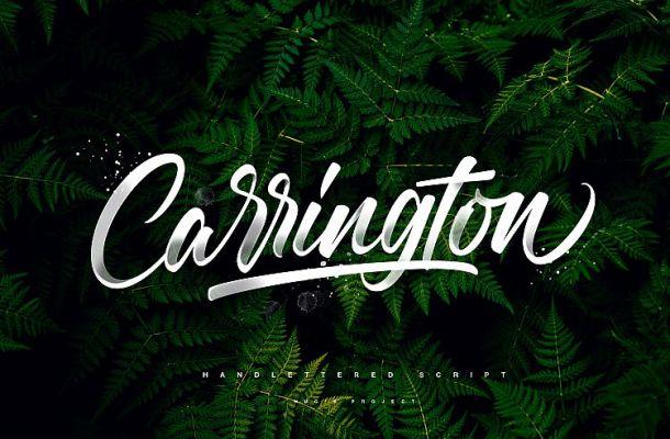 Carrington Script Font