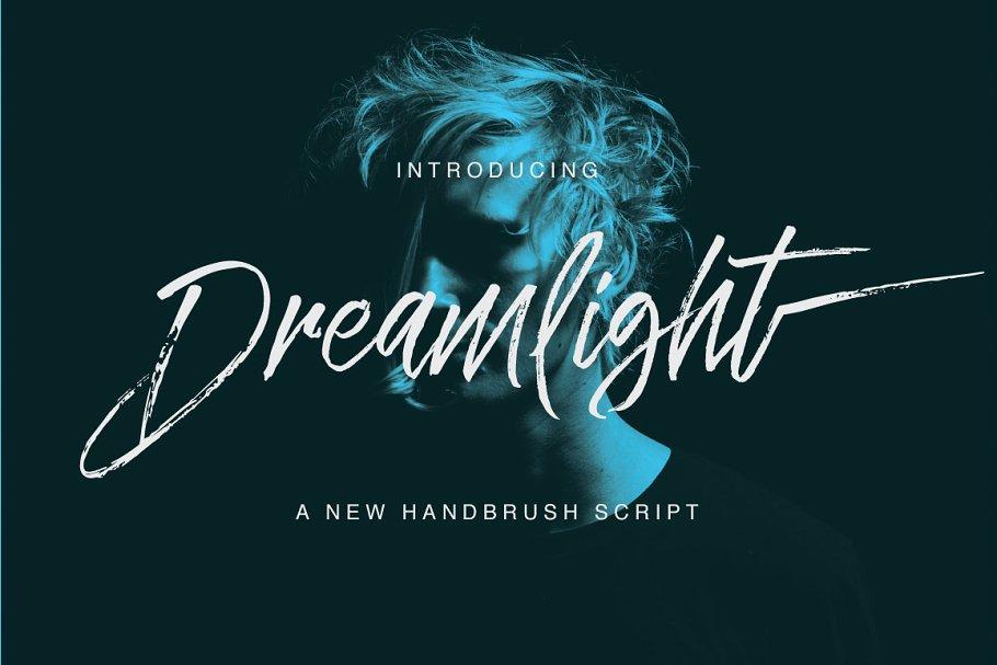 dreamlight-script-font