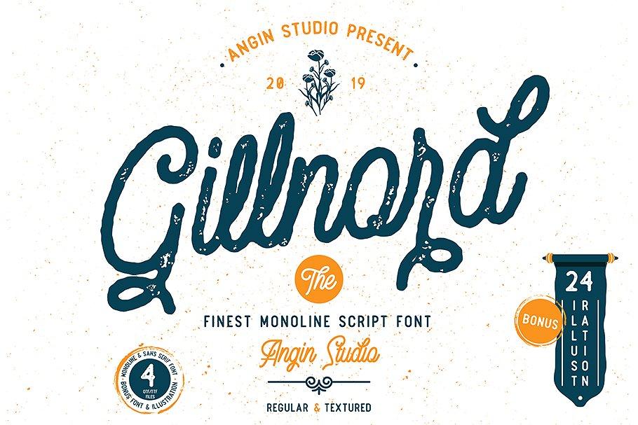 gillnord-script-font
