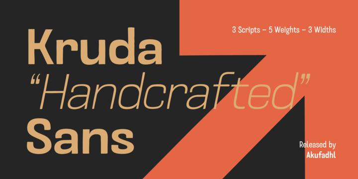 kruda-font-family