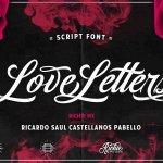 Love Letters Script Font