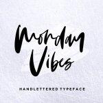 Monday Vibes Handwritten Font