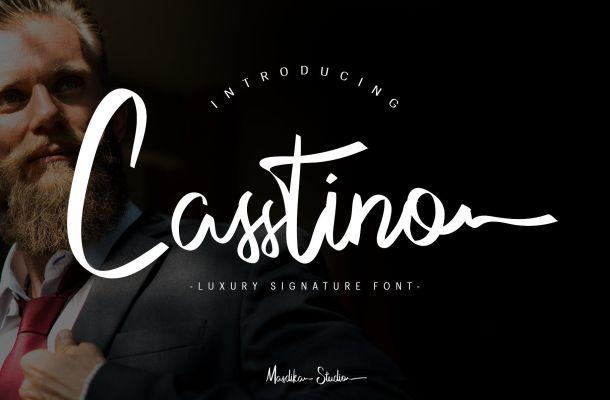 Casstino Handwritten Font