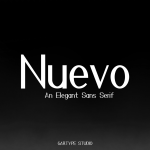 Nuevo Sans Font Family