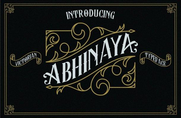 Abhinaya Font