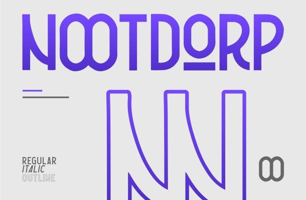Nootdorp Font Family