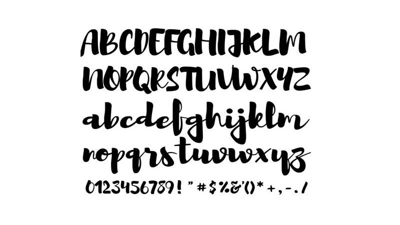Brusher-Font-Family-Download