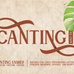 Canting Typeface