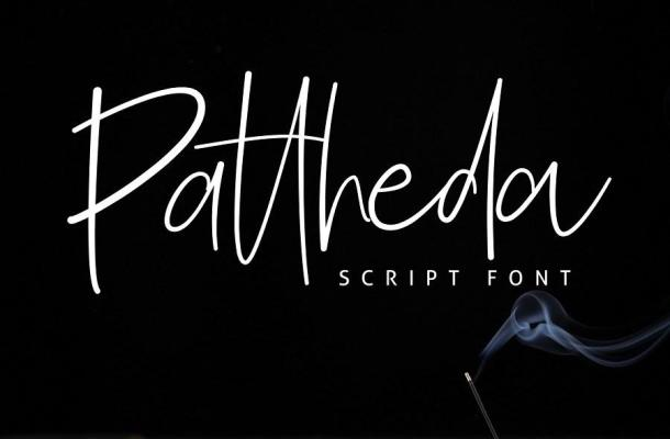 Free Pattheda Script Font