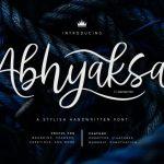 Abhyaksa Handwritten Font