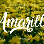 Amarillo Font