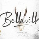 Bellaville Script Font