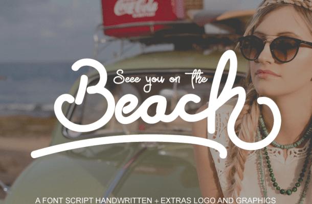 Free Beach Font