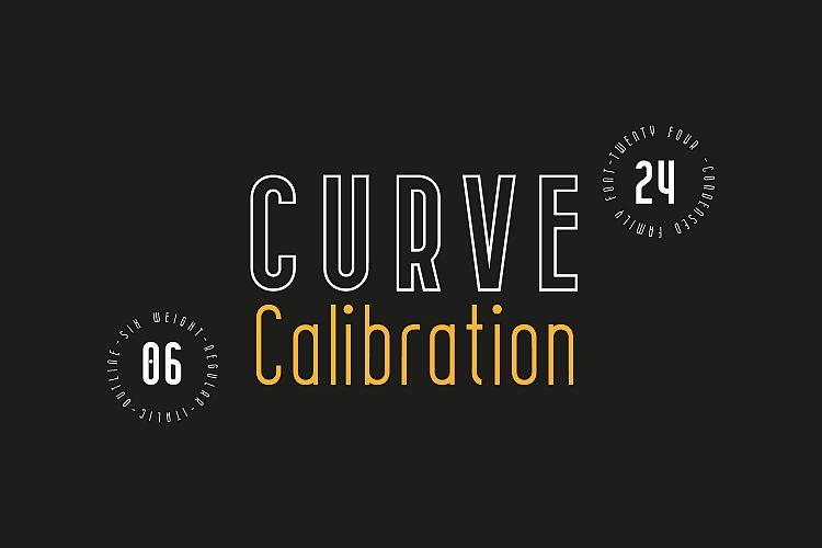 curve-calibration-typeface