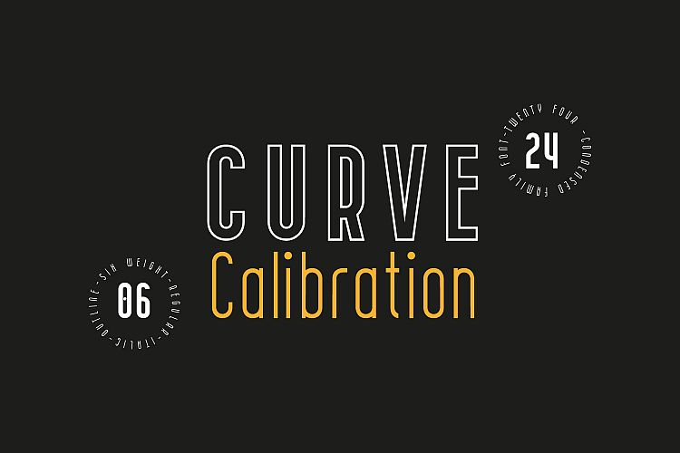 curve-calibration-typeface