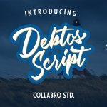 Debtos Script Font