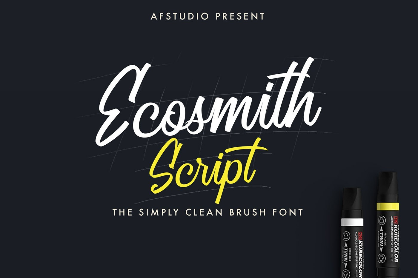 ecosmith-script-font
