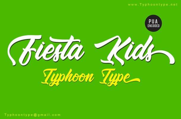 Fiesta Kids Script Font