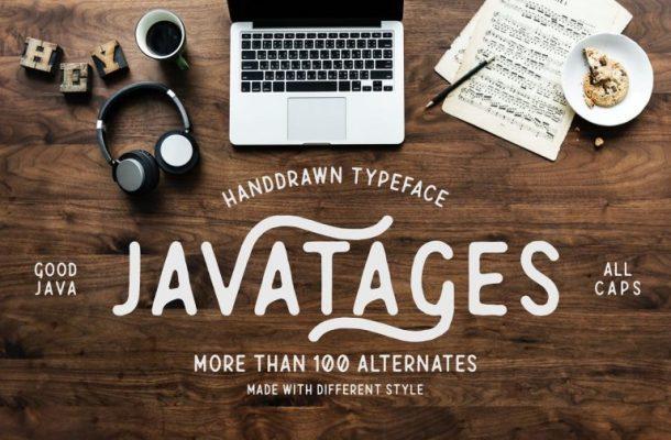 Javatages Typeface