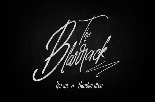 Blarrack Script Font Duo