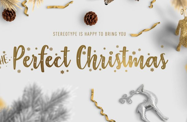 The Perfect Christmas Font