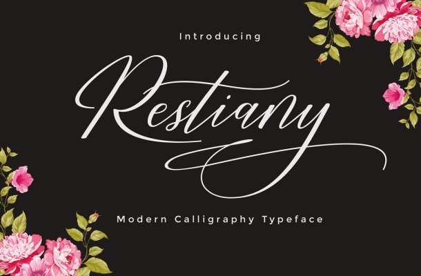 Restiany Script Font