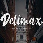 Delimax Script Font