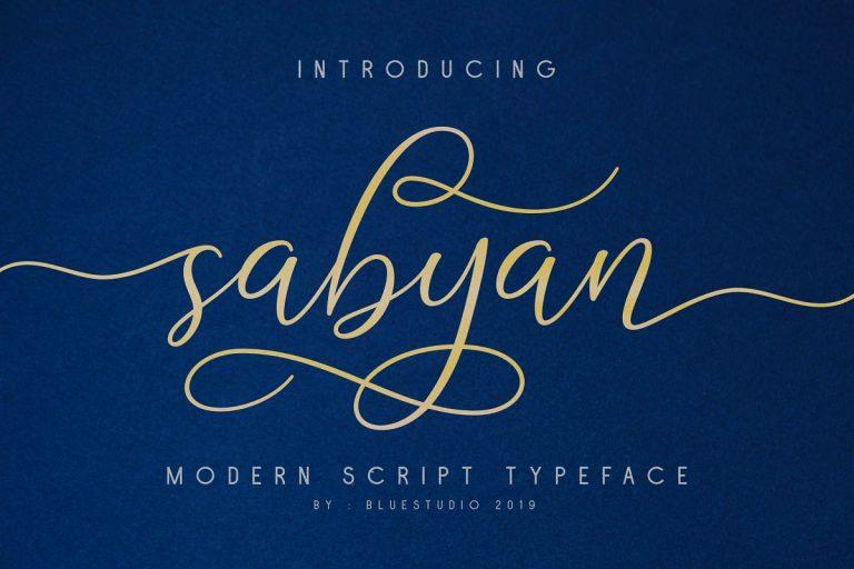 sabyan-script-font-768x512