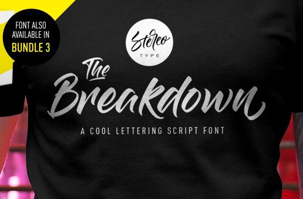 The Breakdown Font