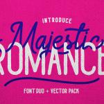 Majestic Romance Script Font