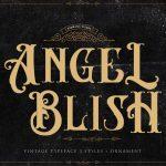 Angel Blish Typeface