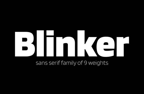 Blinker Font Family