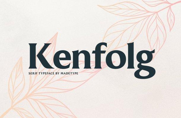 MADE Kenfolg Serif Font