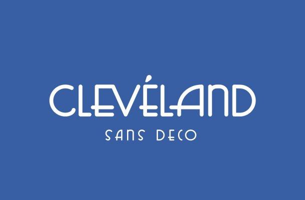 Cleveland Sans Deco Font