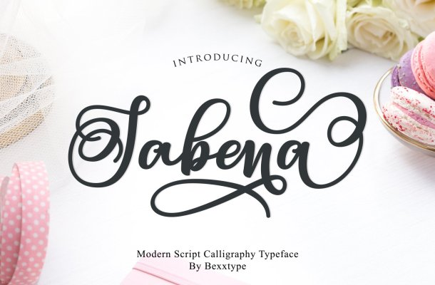 Sabena Calligraphy Font